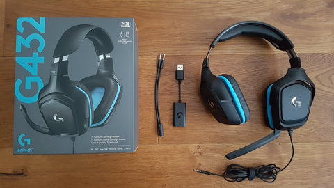 Logitech G432 headphones