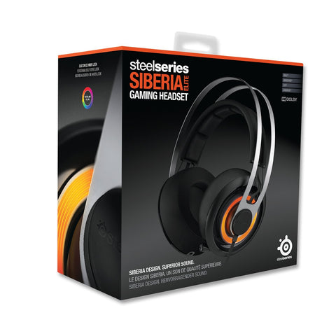 SteelSeries Siberia Elite headphones