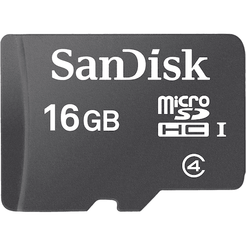 2x 16GB Sandisk Micro SDHC memory card Class 4 Flash SD micro card mobile 32gb