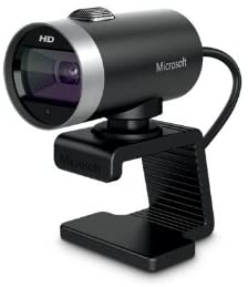 Microsoft LifeCam Cinema For Business Webcam - Black/Silver