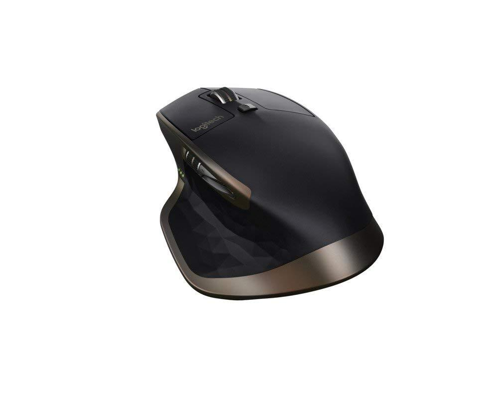 Logitech MX Master Wireless Bluetooth Mouse for Windows and Mac - Black