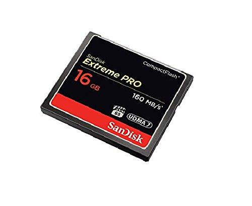 Sandisk Extreme PRO 16gb Compact Flash Memory Card
