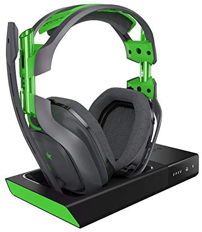 ASTRO Gaming by Logitech A50 Wireless Headset+Base Station XBOX Grey/green
