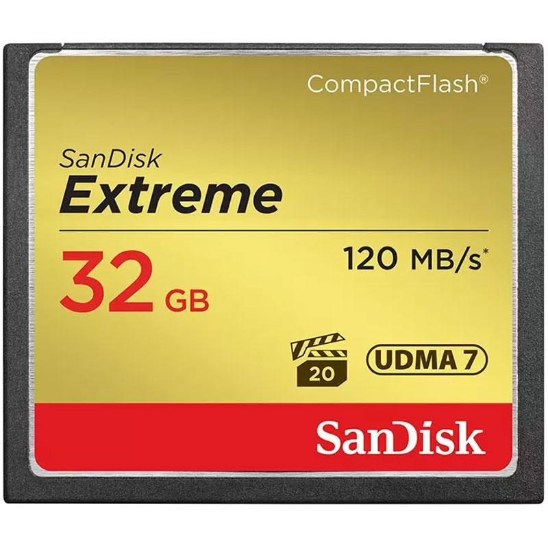 Sandisk Extreme 32gb Compact Flash Memory Card