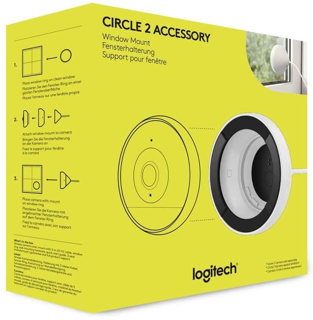 Logitech Circle 2 Window Mount Accessory