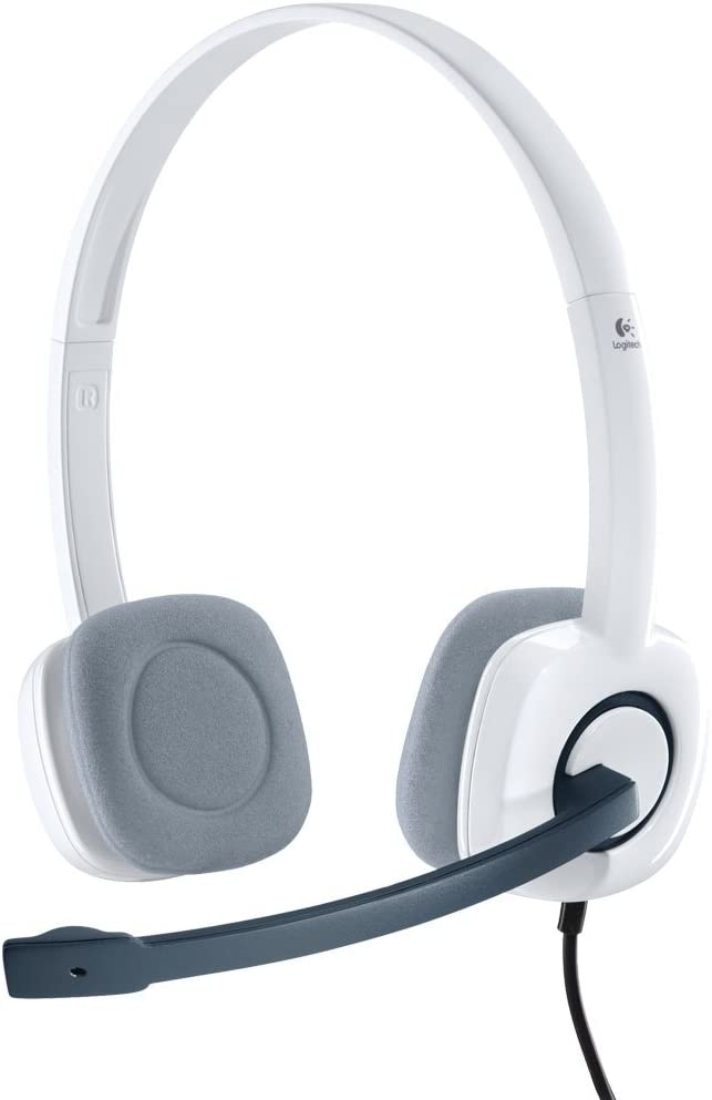 Logitech H150 Wired Headset White