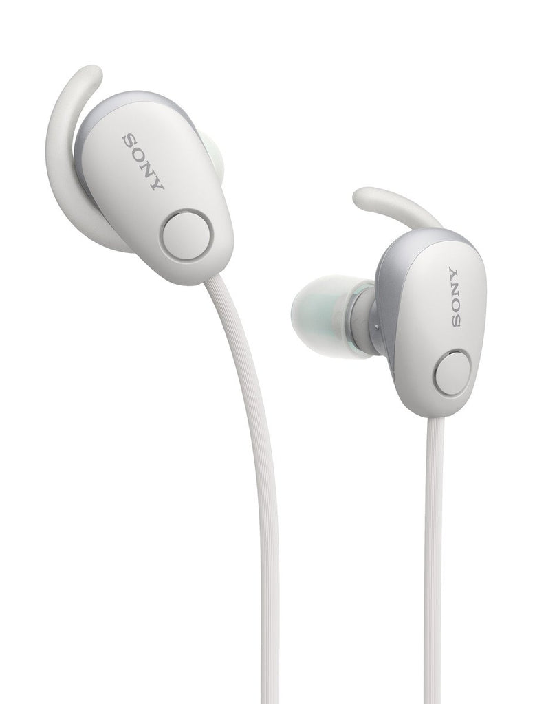 Sony WI-SP600N Wireless Sport Headphones Bluetooth Noise Canceling NC 600N White