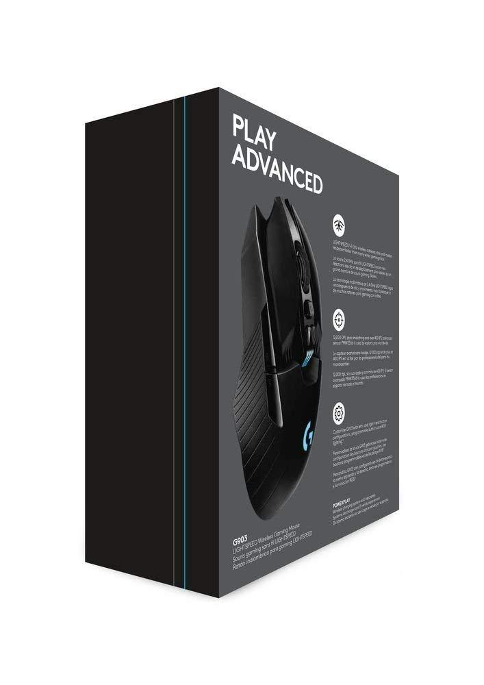 Logitech G903 Lightspeed Gaming Mouse With Powerplay Wireless Charging