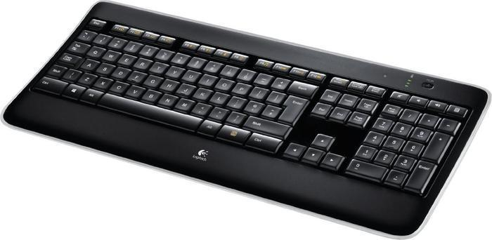 LOGITECH K800 Illuminated Wireless Keyboard Black UK QWERTY LAYOUT unifying
