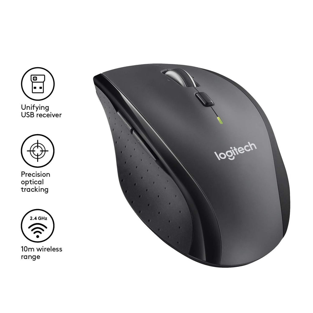 Logitech M705 Wireless Mouse - Black v.2018