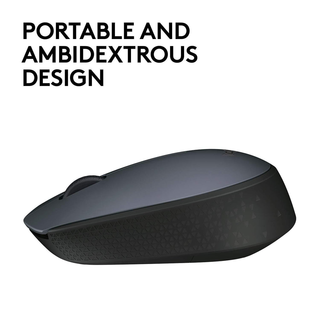 Logitech M170 Wireless Mouse for Windows, Mac and Chrome
