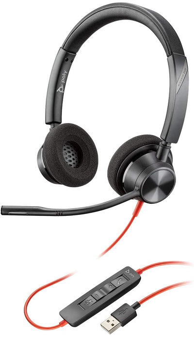 Poly Blackwire 3320 Stereo Headset USB-A