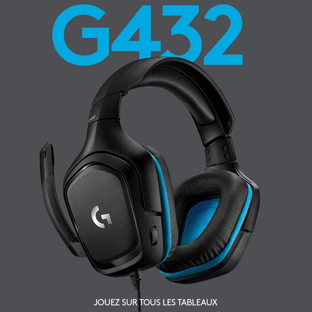 Logitech G432 Surround Sound Gaming Headset