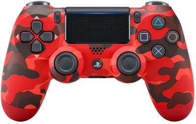 Sony PlayStation DualShock 4 Controller - Red Camouflage