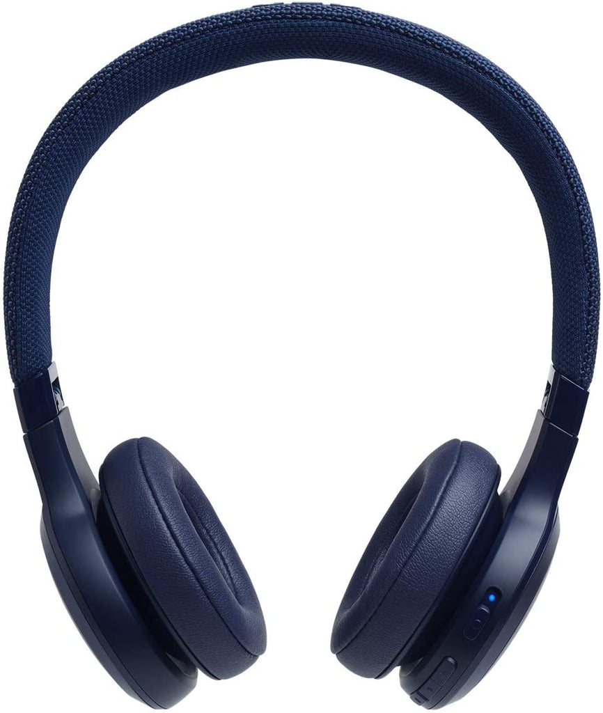 JBL Live 400BT On-Ear Wireless Headphones - Blue