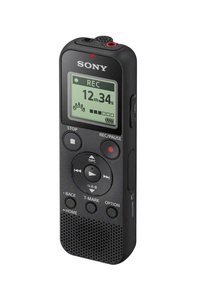 Sony ICD-PX370 4GB Mono MP3 Digital Voice Recorder with Built-in USB - Black