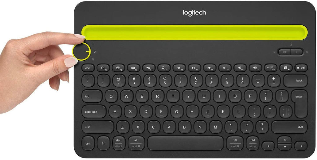 Logitech K480 Multi Device Bluetooth Keyboard for PC Black