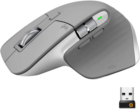 Logitech MX Master 3 Mouse Mid Gray