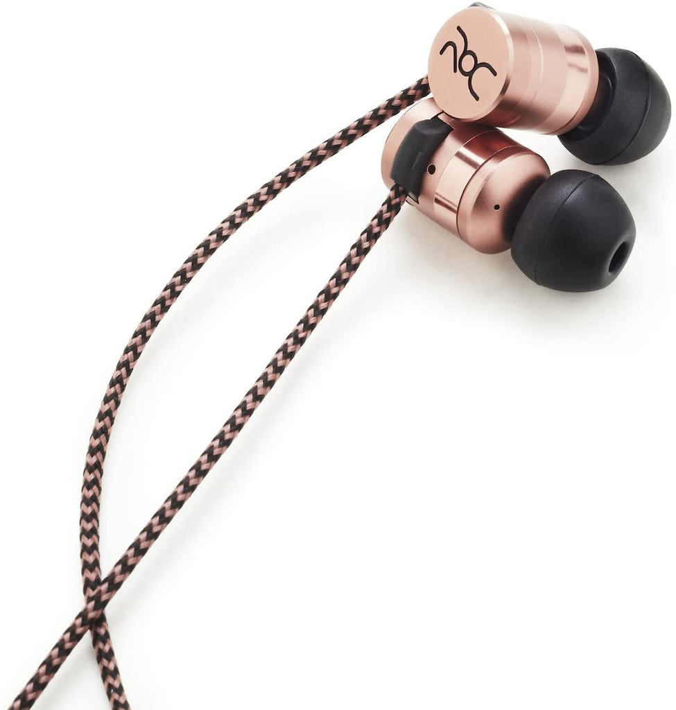 ROC Model 3 Wired Sport Earbuds In-Ear Headphones - Copper