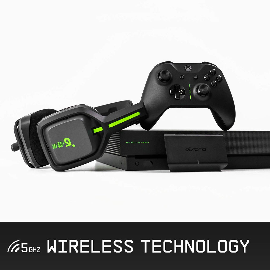 ASTRO Gaming A20 Wireless Headset Compatible with Xbox One, PC, Mac
