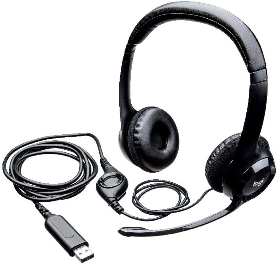 Logi by Logitech H390 USB Headset with Microphone