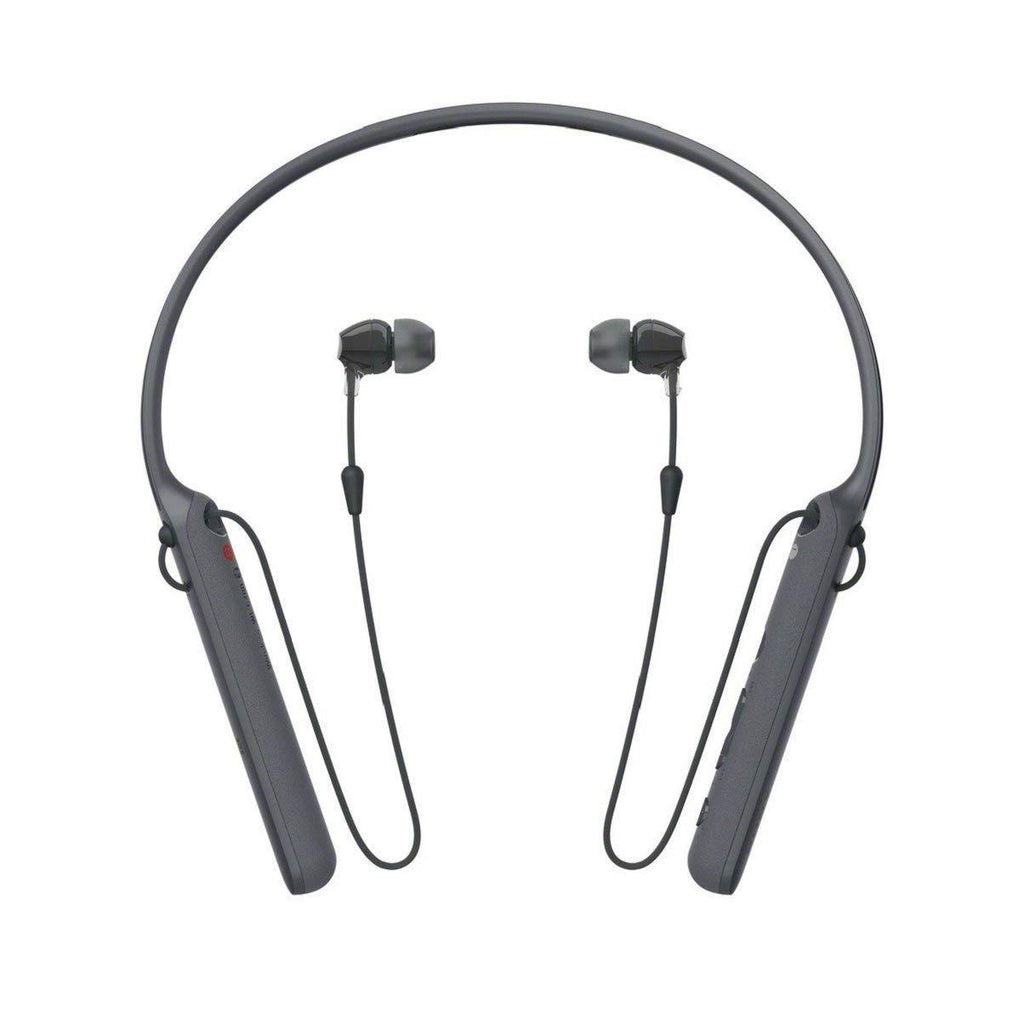 Sony WI-C400 Bluetooth NFC Wireless In-Ear Headphones with Mic Remote, Black