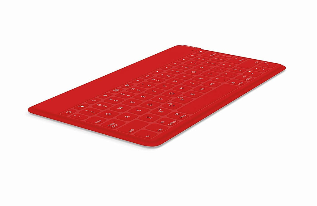 Logitech Keys To Go QWERTY Bluetooth Keyboard RED for IPAD Svenska Dansk Norsk