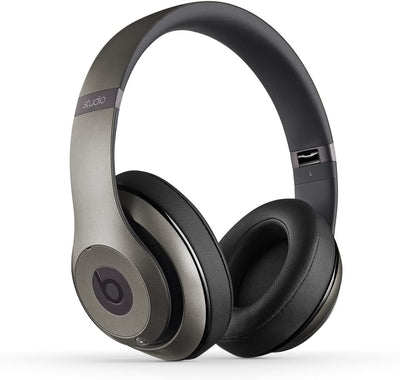 Beats by DRE Studio 2.0 WIRED Over-ear Headphones Titanium