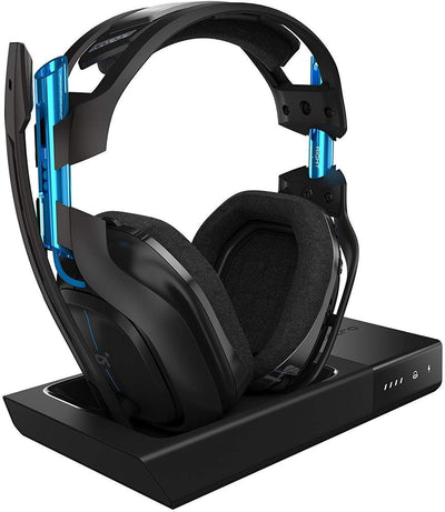 ASTRO Gaming by Logitech A50 Wireless Headset+Base Station PS4 & PC  Black/Blue