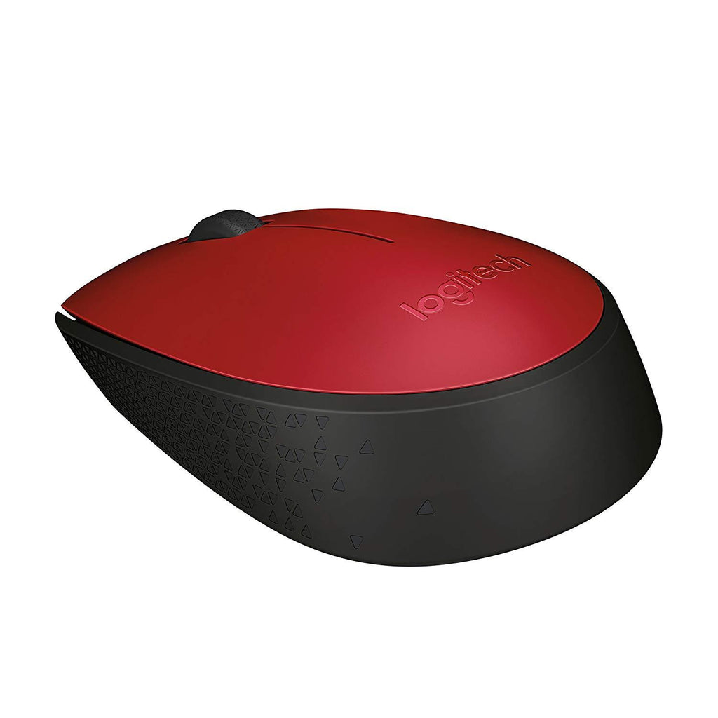 Logitech M171 Wireless Mouse for Windows, Mac and Chrome RED