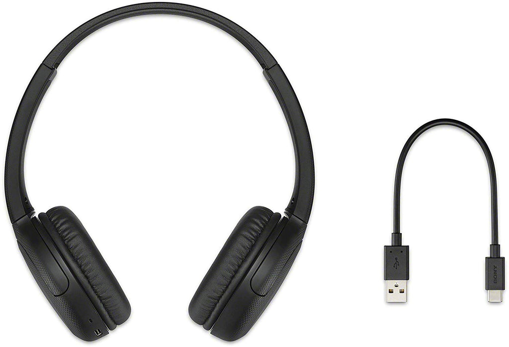 Sony WH-CH510 Wireless On-Ear Headphones, Black