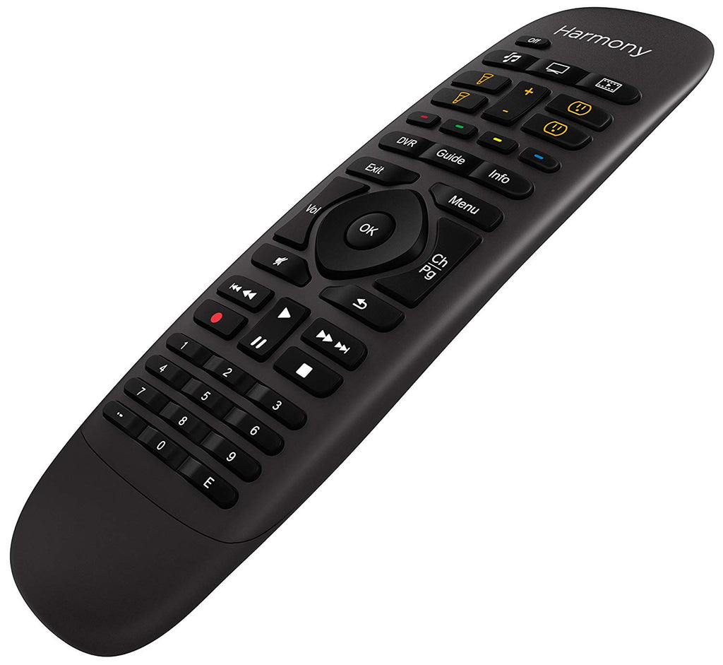 Logitech Harmony Smart Control IR Wireless Buttons Black Remote