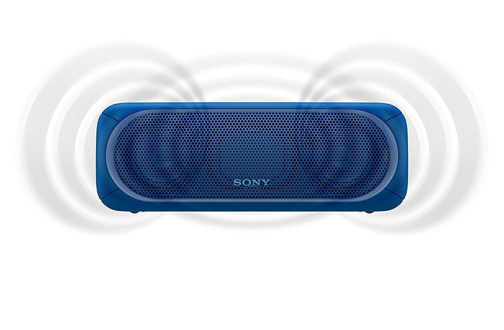 Sony SRS-XB40 Portable Wireless Speaker with Extra Bass and Lighting BLUE !B - Fatbat UK