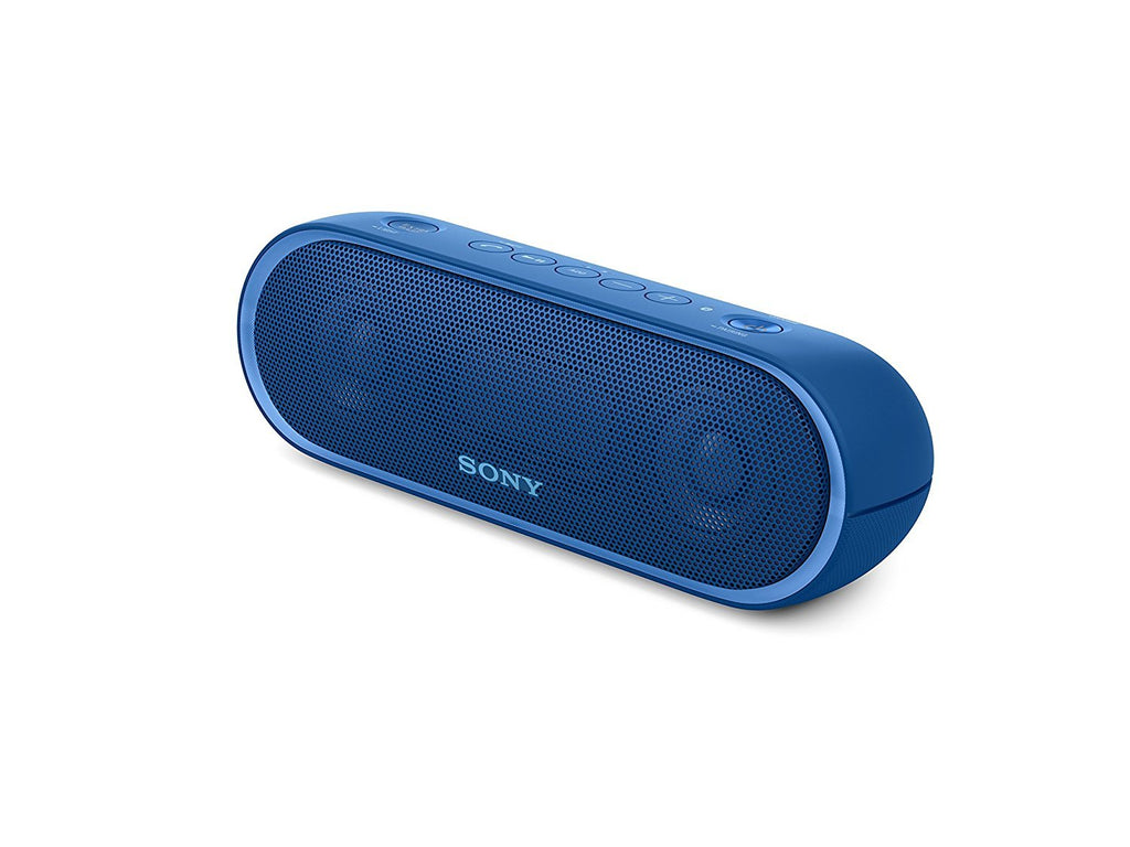 Sony SRS-XB20 Portable Wireless Speaker with Extra Bass and Lighting BLUE !B - Fatbat UK