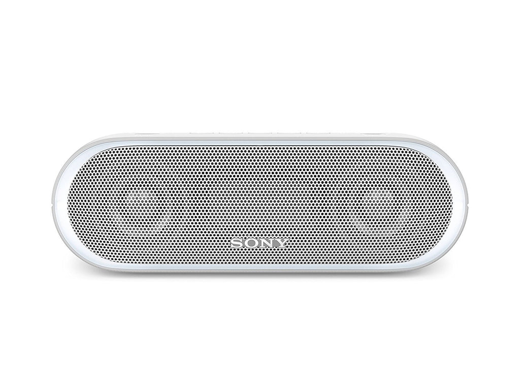 Sony SRS-XB20 Portable Wireless Speaker with Extra Bass and Lighting WHITE / GREY !A - Fatbat UK