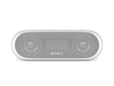 Sony SRS-XB20 Portable Wireless Speaker with Extra Bass and Lighting WHITE / GREY !B - Fatbat UK