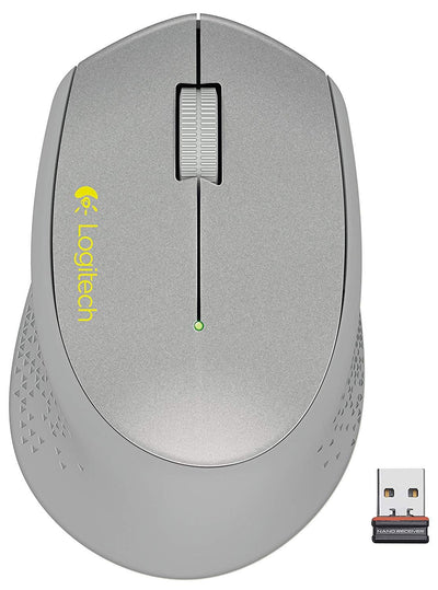 Logitech M320 with nano receiver Mice Silver