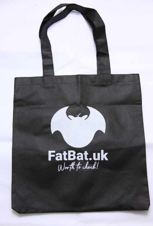 FatBat Shopping Bag - Black
