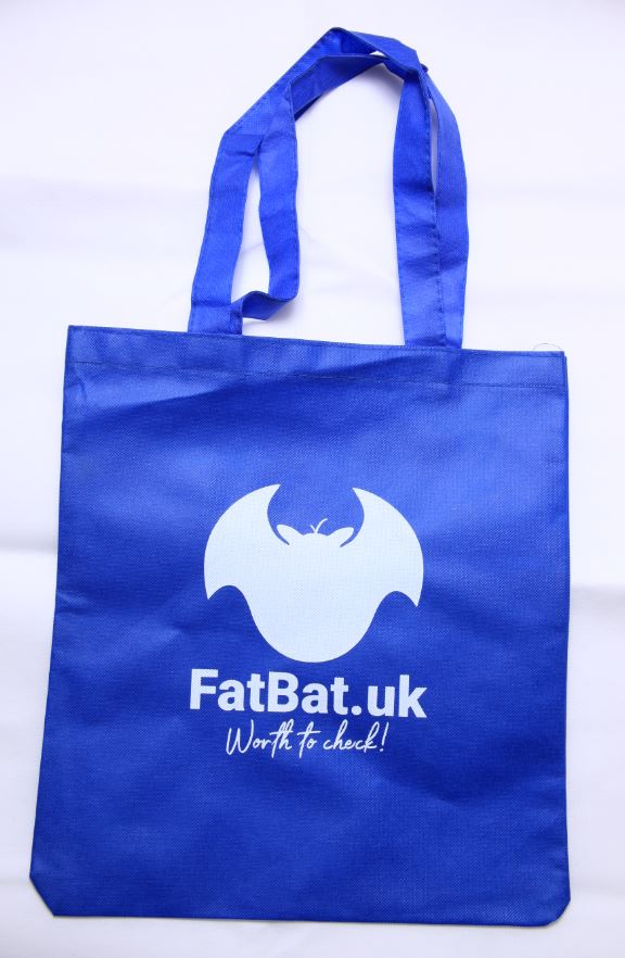 FatBat Shopping Bag - Blue