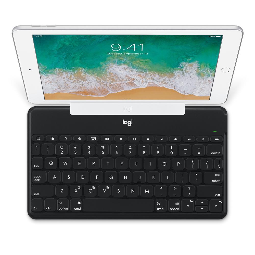 Logitech Keys-to-Go Ultra Slim Keyboard with iPhone Stand Black