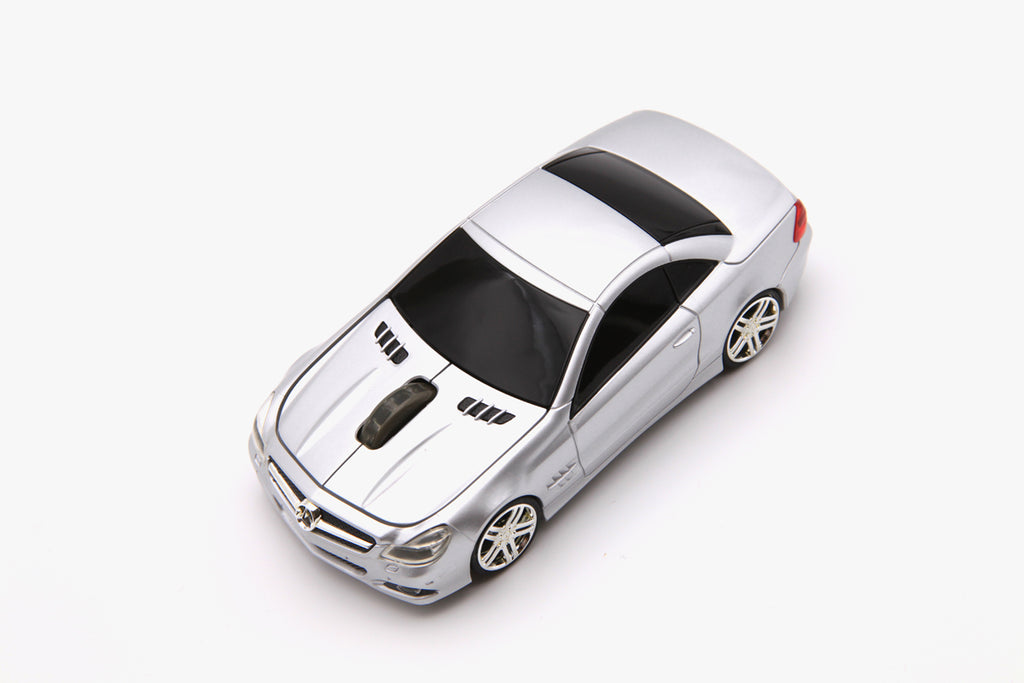 Road Mice Mercedes SL550 HP Wireless Optical Mouse - Silver