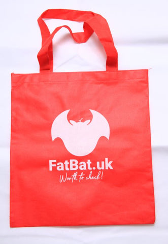 FatBat Shopping Bag - Red
