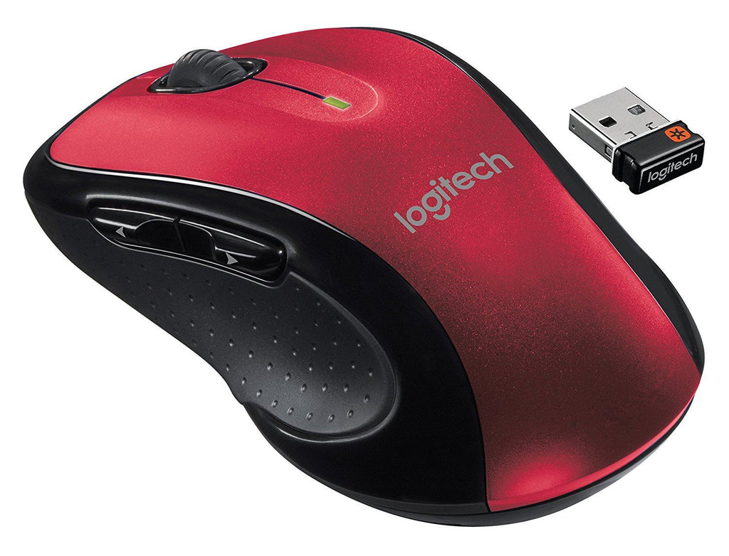 Logitech M510 Laser Mouse RED !A - Fatbat UK