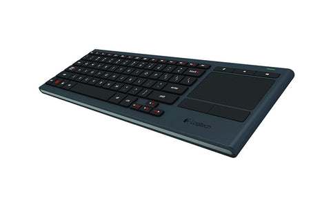 Logitech K830 Illuminated Living-Room Wireless Touchpad Keyboard *UK* LAYOUT TV !A - Fatbat UK