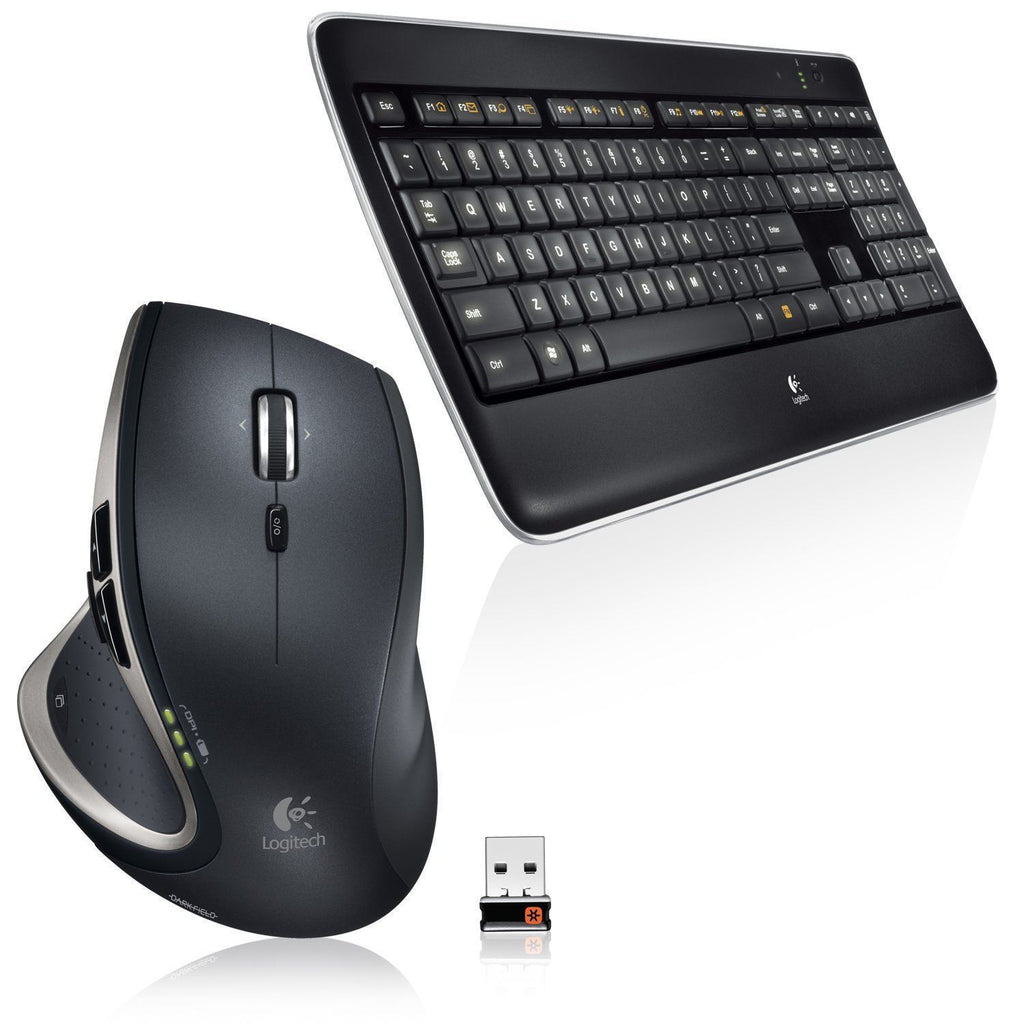 Logitech MX800 Wireless Performance and Mouse Combo Illuminated Keyboard US/PL  LAYOUT
