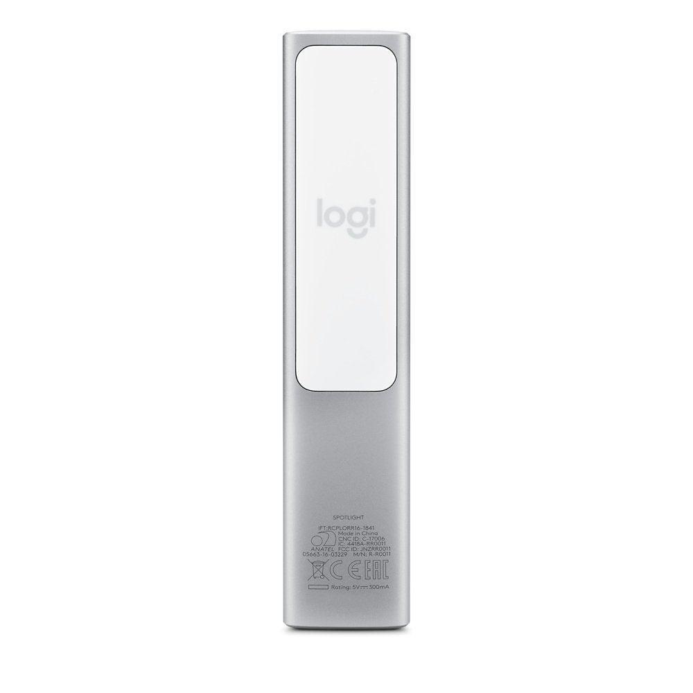 Logitech Spotlight Remote Wireless Presenter USB Bluetooth Range 30m