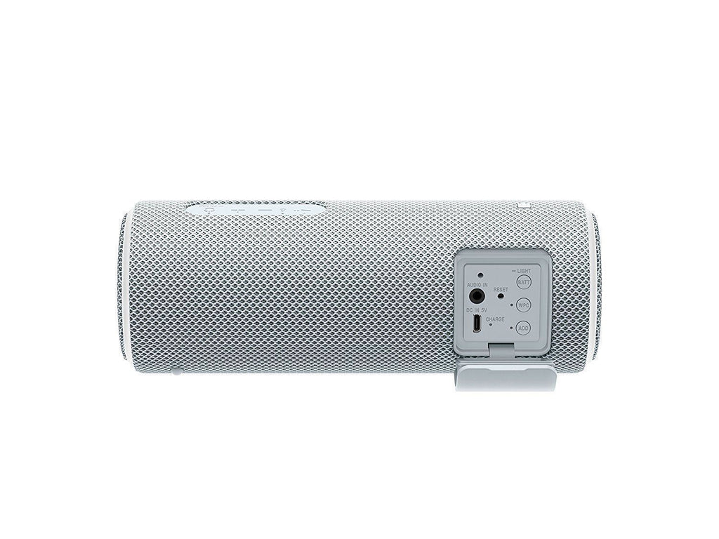 Sony SRS-XB21 Portable Wireless Speaker with Extra Bass and Lighting White  !A - Fatbat UK