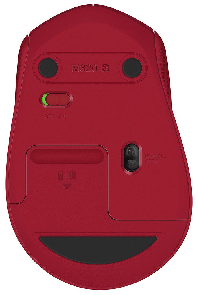 Logitech M320  Mice with nano receiver RED