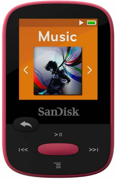 SanDisk Sansa Clip+ Sport 8GB Digital Media Player MP3 PINK