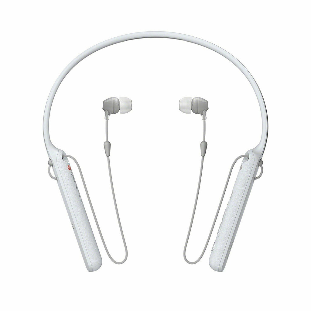 Sony WI-C400 Bluetooth NFC Wireless In-Ear Headphones with Mic Remote, White